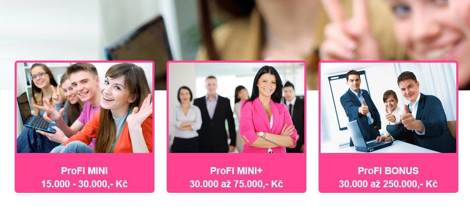 nebankovní pujcky online dačice ceník