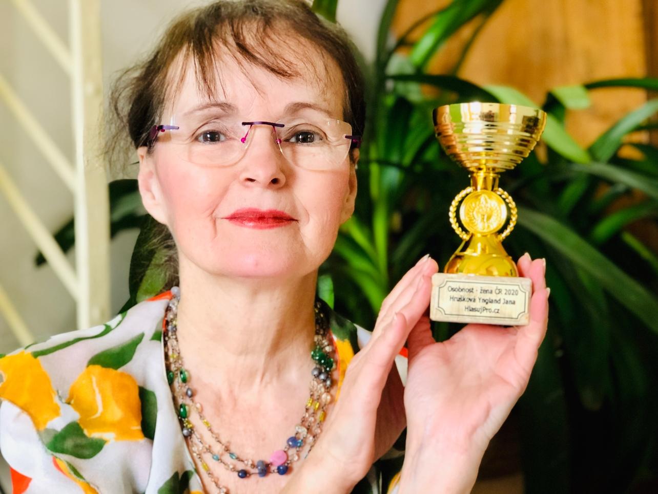 Osobnost roku - žena Jana  Yngland  Hrušková